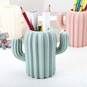 Vaso Decorativo de Plástico Cacto Colors - Cores Variadas | Importado