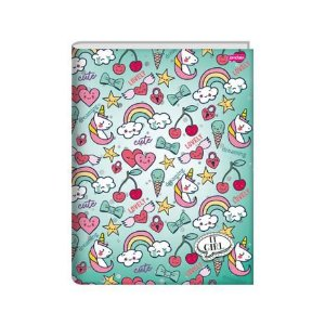 Caderno Brochura 1/4 It Girl Verde| Jandaia