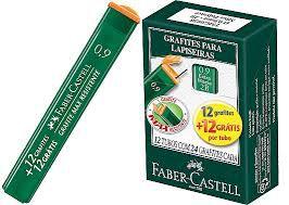 Grafite 0,9 mm 2b 24 minas | Faber-Castell