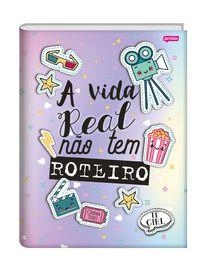 Caderno Brochura 1/4 It Girl - A vida real não tem roteiro |  Jandaia