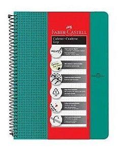 Caderno Universitário Grip Verde 80 Folhas 90gr 222m x 297mm | Faber-Castell