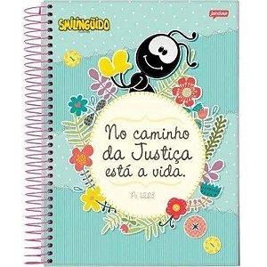Caderno 96 folhas Smilinguido | Jandaia