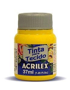 Tinta para Tecido 37ml - Amarelo Gema | Acrilex