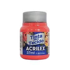 Tinta para Tecido 37ml - Coral 586 | Acrilex