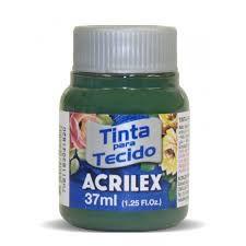 Tinta para Tecido 37ml - Verde Pinheiro 546 | Acrilex