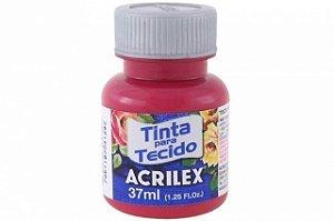 Tinta para Tecido 37ml - Vermelho Carmim 509 | Acrilex