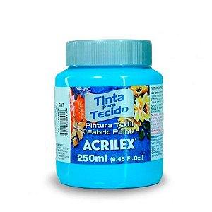Tinta para Tecido 37ml - Azul Celeste 503 | Acrilex
