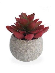 Plantinha Suculenta Artificial para Mini Vaso - Roxa | Importado