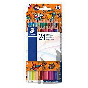 Lápis de Cor 24 cores brilhantes   Staedtler