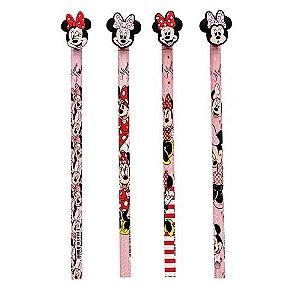 Lápis Grafite Top Minnie Mouse - Estampas Variadas | Molin