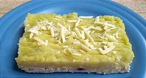 2 - Escondidinho de batata-doce com recheio de frango - refeição congelada