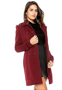 Blazer feminino fashion roxo