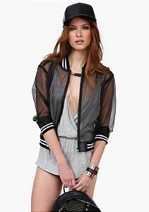 Jaqueta feminina fashion - girl boss
