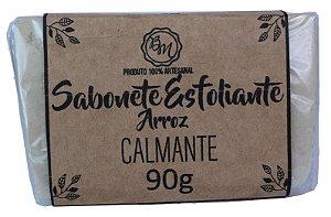 SABONETE ESFOLIANTE DE ARROZ - CALMANTE