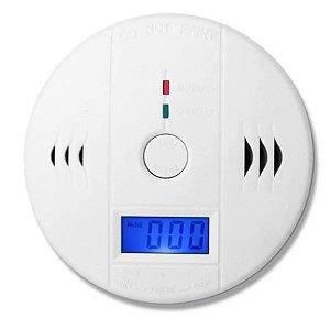 Detector Alarme Incêndio Monóxido De Carbono Fumaça quarto da cozinha