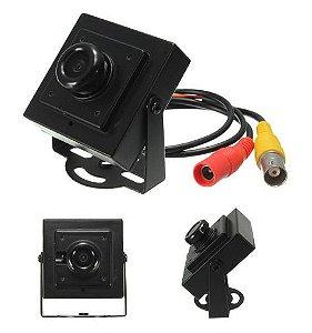 Camera de segurança Mini HD 700TVL PAL CCTV