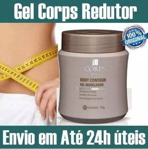 Creme Gel Corps Lignea Hinode Reduz Celulite Gordura Medidas