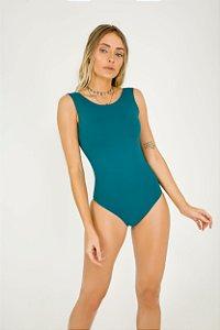 Body Canoa Dupla Face Verde