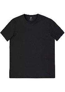 Camiseta Básica Masculina Slim Mangas Curtas
