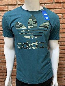 Camiseta Adidas Camuflada - Verde
