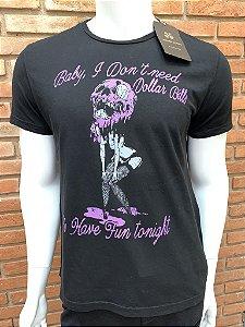 Camiseta John John - Preta