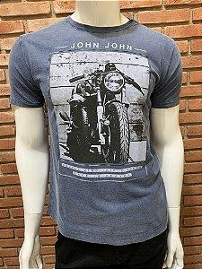 Camiseta John John - Azul