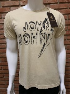 Camiseta John John - Palha