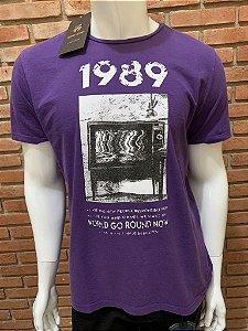 Camiseta John John - Roxa