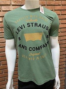 Camiseta Levi's - verde
