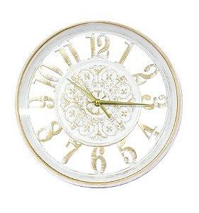 Relógio de parede Classic Branco 30CM