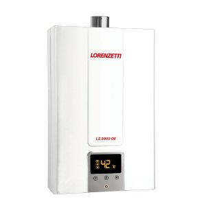 Aquecedor de Água a Gás Digital 2000DE-B GLP Lorenzetti 7412134