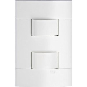 Conjunto 2 Interruptores Simples 10A Schneider Lunare PRM43141