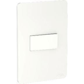 Conjunto Interruptor Simples 10A 250V Branco Schneider Orion S71310104
