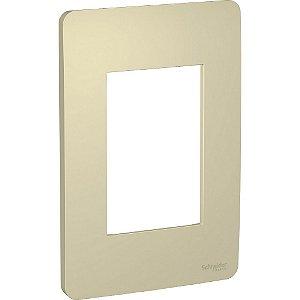 Placa 4x2 3 Postos Horizon Gold Schneider Orion S730103234