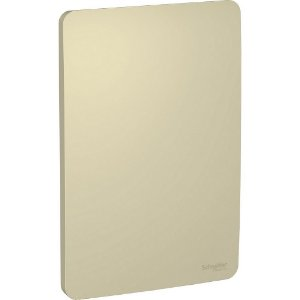 Placa cega 4x2 Horizon Gold Schneider Orion S730100234