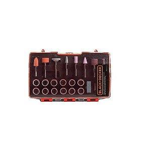 Jogo para Micro Retifica com 175 Peças Black & Decker BDA3037-LAC