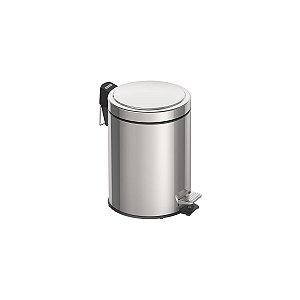 Lixeira Inox 5 Litros com Pedal e acabamento polido Tramontina 94538-105
