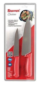 Kit de Facas Kitchen Starret BKK-2R
