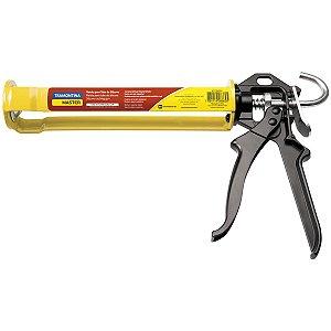 Pistola para Tubo de Silicone Tramontina com Chapas em Aço 280 ml 43199/002