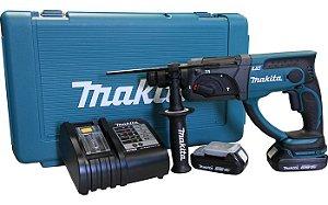 Martelete Combinado Com Bateria 18V Makita DHR202SYE