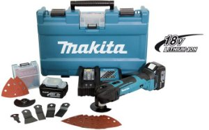 Multiferramenta com Bateria 18V Makita DTM51RFEX2