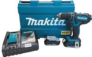 Parafusadeira / Furadeira 1/2' com bateria 18V Makita DHP482RAE