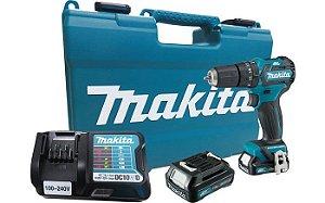 Parafusadeira / Furadeira de Impacto 3/8' com bateria 12V Makita HP332DWYE