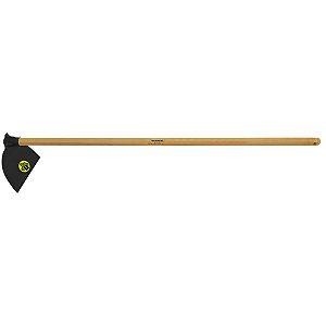 Enxada canavieira goivada 2.5, cabo de madeira 145 cm