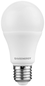 Lâmpada de Led Bulbo A60 8W 6500K Bivolt Save 215.1518