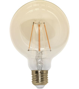 Lâmpada G95 Filamento 4W
