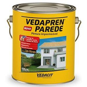 Vedapren Parede Vedacit Galão com 3,6 Litros