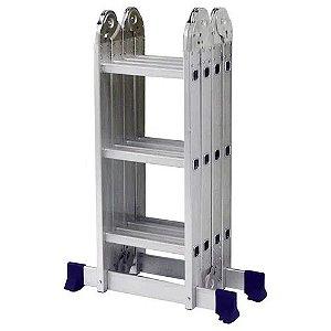Escada Multifuncional 4x3 12 Degraus