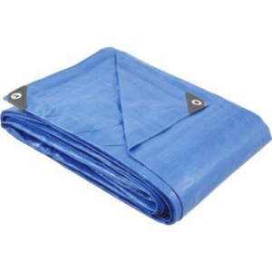 Lona de Polietileno 2 x 2m Azul Vonder