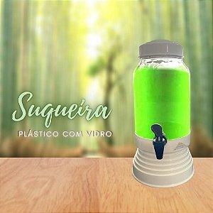 SUQUEIRA PLÁSTICO C/ VIDRO 3,250 LTS